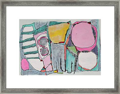 Salt Water Taffy Framed Print by Hari Thomas