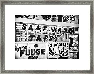 Salt Water Taffy Framed Print by John Rizzuto