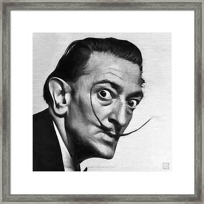 Salvador Dali Framed Print by Lonnie Christopher