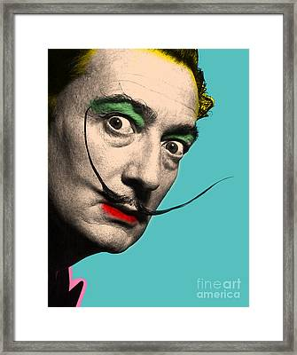 Salvador Dali Framed Print by Mark Ashkenazi