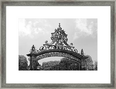 Salve Regina University Gate Framed Print by University Icons