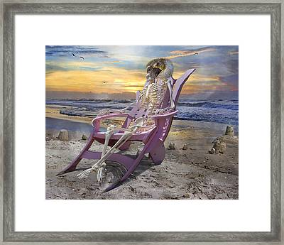 Sam Becomes Animalistic Framed Print by Betsy Knapp