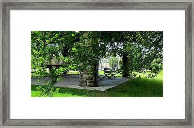 Sam Lawrence Park Hamilton Ontario Canada Framed Print by Danielle  Parent
