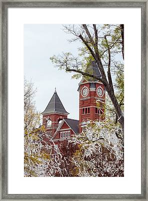 Samford Hall Vii Framed Print by Victoria Lawrence