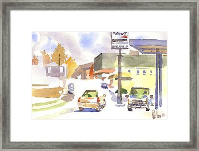Sam's Service Framed Print by Kip DeVore