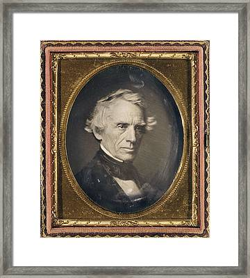 Samuel Finley Breese Morse Framed Print by Granger