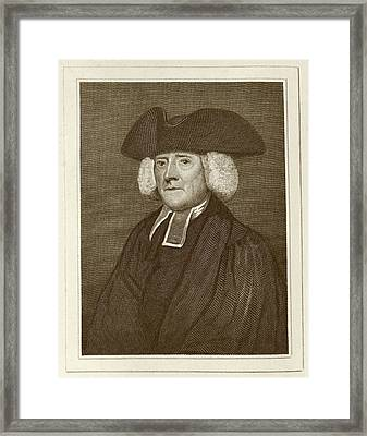 Samuel Pegge Framed Print by Middle Temple Library