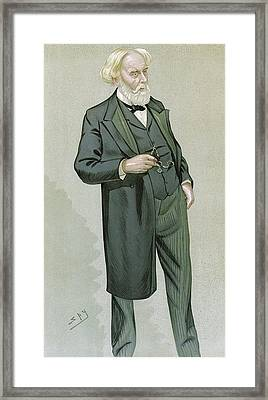 Samuel Wilks, British Physician Framed Print by Science Photo Library