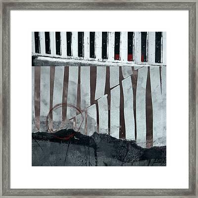 San Andreas Fault Framed Print by Carol Leigh