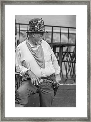 San Antonio Bouncer Framed Print by John McGraw