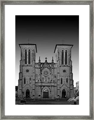 San Antonio - San Fernando Cathedral Framed Print by Christine Till