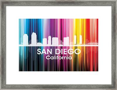 San Diego Ca 2 Framed Print by Angelina Vick