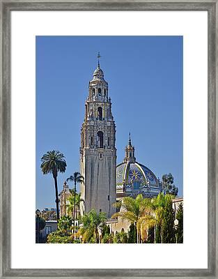 San Diego's Pride - Balboa Park Framed Print by Christine Till