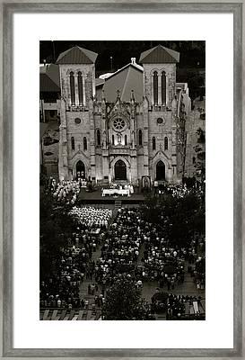 San Fernando Cathedral 002 Framed Print by Shawn Marlow