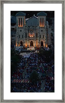 San Fernando Cathedral 003 Framed Print by Shawn Marlow