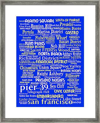 San Francisco 20130710 Framed Print by Wingsdomain Art and Photography