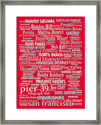 San Francisco 20130710p120 Framed Print by Wingsdomain Art and Photography