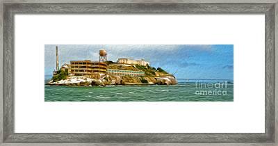 San Francisco - Alcatraz - 02 Framed Print by Gregory Dyer