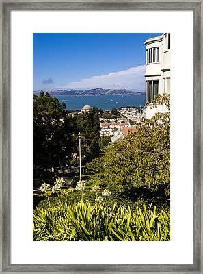 San Francisco Bay Framed Print by Mark Llewellyn