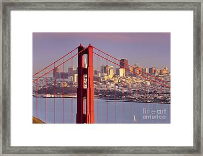 San Francisco Framed Print by Brian Jannsen