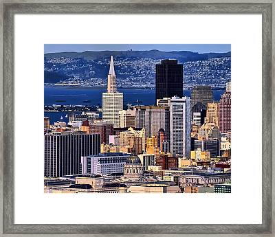 San Francisco Framed Print by Camille Lopez
