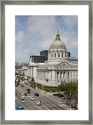 San Francisco City Hall 5d22513 Framed Print by Wingsdomain Art and Photography