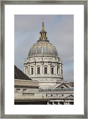 San Francisco City Hall 5d22548 Framed Print by Wingsdomain Art and Photography
