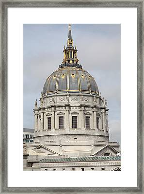 San Francisco City Hall 5d22555 Framed Print by Wingsdomain Art and Photography