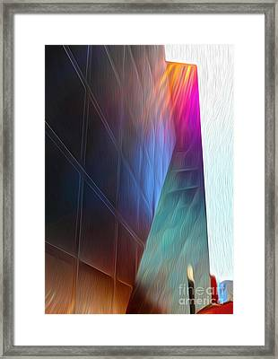 San Francisco - Contemporary Jewish Museum - 02 Framed Print by Gregory Dyer