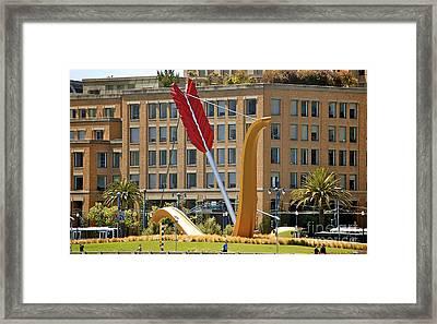 San Francisco Embarcadero Framed Print by YJ Kostal