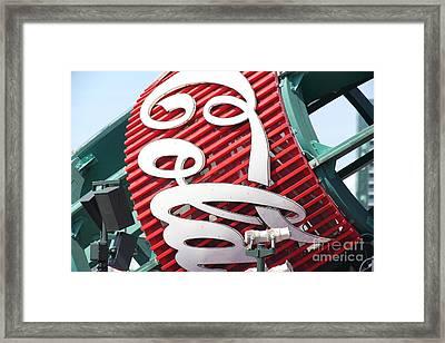 San Francisco Giants Baseball Ballpark Fan Lot Giant Bottle 5d28239 Framed Print by Wingsdomain Art and Photography