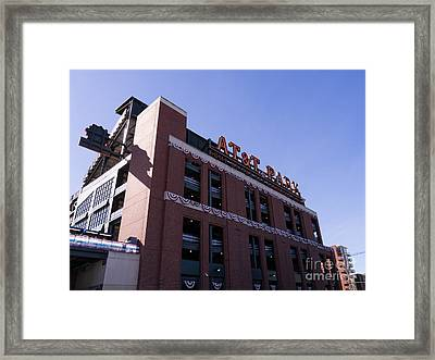 San Francisco Giants World Series Baseball At Att Park Dsc1886 Framed Print by Wingsdomain Art and Photography