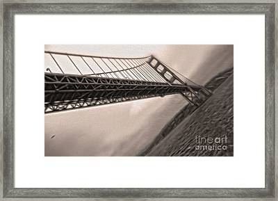 San Francisco - Golden Gate Bridge - 04 Framed Print by Gregory Dyer