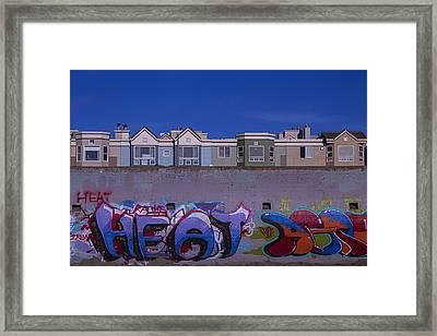San Francisco Graffiti Framed Print by Garry Gay