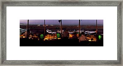 San Francisco Intl Airport Control Framed Print by Panoramic Images