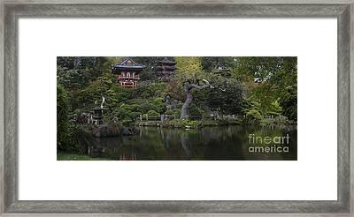 San Francisco Japanese Garden Framed Print by Mike Reid