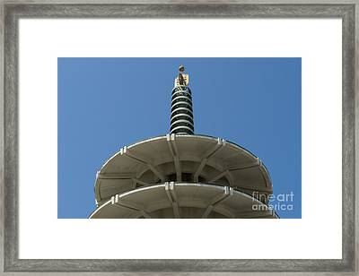 San Francisco Japantown Pagoda Dsc998 Framed Print by Wingsdomain Art and Photography