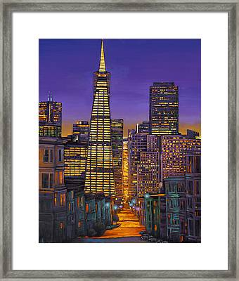 San Francisco Framed Print by Johnathan Harris