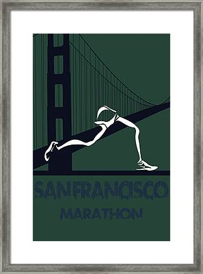San Francisco Marathon Framed Print by Joe Hamilton