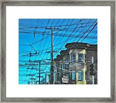 San Francisco - Mission District - 01 Framed Print by Gregory Dyer
