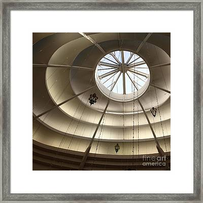 San Francisco Nordstrom Department Store - 5d20634 - Square Framed Print by Wingsdomain Art and Photography