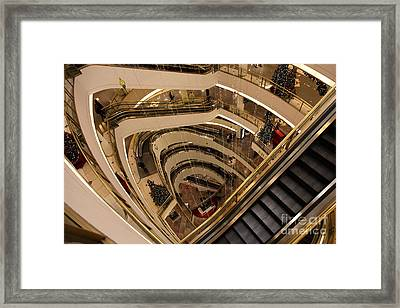 San Francisco Nordstrom Department Store - 5d20639 Framed Print by Wingsdomain Art and Photography