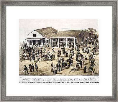San Francisco Post Office Framed Print by Granger