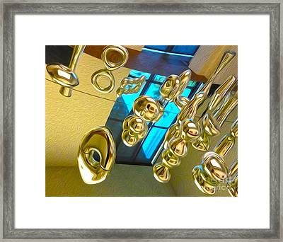 San Francisco - Reflection - 01 Framed Print by Gregory Dyer