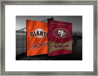 San Francisco Sports Teams Framed Print by Joe Hamilton