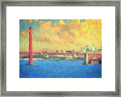 San Francisco Framed Print by Taylan Soyturk