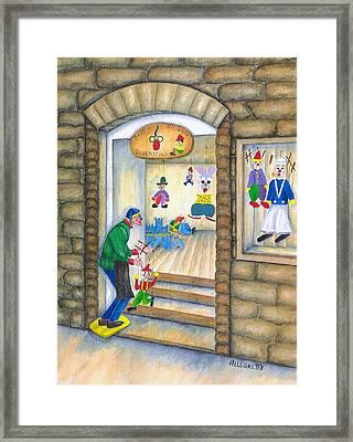 San Gimignano Framed Print by Pamela Allegretto