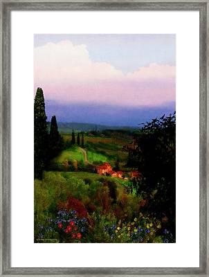San Gimignano Framed Print by Patrick J Osborne