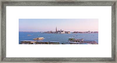 San Giorgio Maggiore Venice Italy Framed Print by Panoramic Images