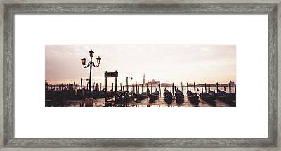San Giorgio Venice Italy Framed Print by Panoramic Images